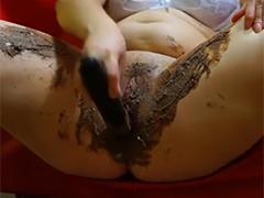 Sexy BBW Scatluder masturbiert