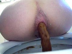 Was für eine mega Scheißwurst