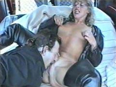 Hässliche deutsche Milf beim Pisse Sex