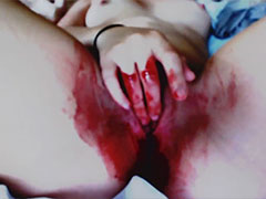 Masturbieren während der Menstruation