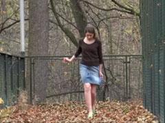 Tschechische Amateurin pisst