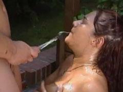 Deutscher Porno mit Natursekt satt