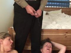 Alte Lesben angepisst