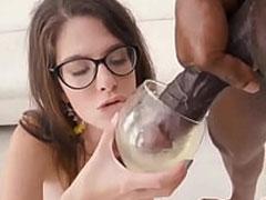 BBC Natursekt Porno mit weisser Schlampe